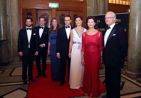 Swedish Royal Family attended a gala performance at the Oscars Theatre