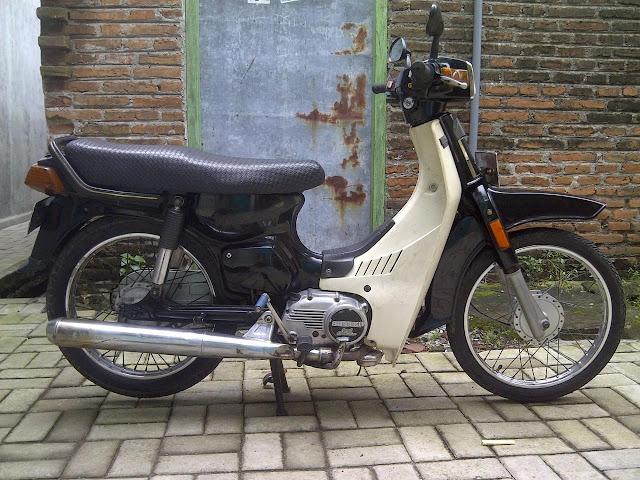 Suzuki Rc 100 Bebek Bandel 2-Tak Di indonesia