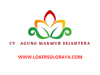 Loker Solo Mekanik Mesin PP, Sales Marketing dan Staff Admin Plastik di CV Agung Makmur Sejahtera
