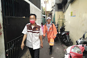 Cegah Virus Corona, LMPP Jakarta Barat Lakukan Penyemprotan Disinfectant