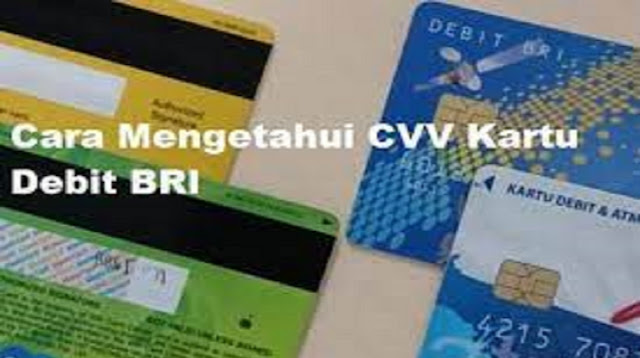 Kode CVV BRI