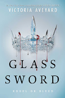 Glass Sword by Victoria Aveyard book cover and review