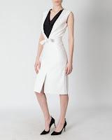 Rochie din piele cu cordon