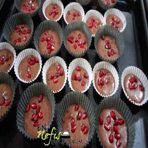 Narlı Kakaolu Muffin Nasıl Yapılır