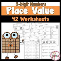 3 Digit Place Value Worksheets