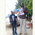 Kaduna State Tallest Man Endorses President Buhari For A 2nd Term *| Photo
