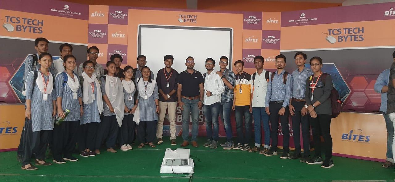 GNDEC Bidar secured 3rd position in TCS Tech bytes@AIET kalaburagi