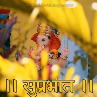 good morning ganesh bhagwan pics