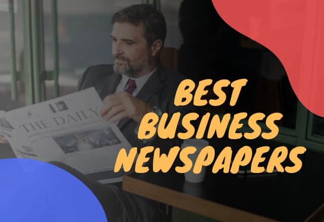 Best Business Newspapers In India.