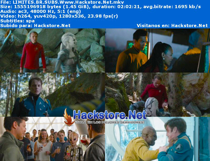 Capturas de Star Trek Sin Límites (2016) Blu-Ray RIP HD Subtitulada