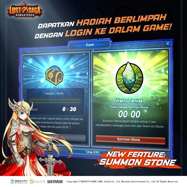 Fitur Baru Summon Stone di Lost Saga Remastered