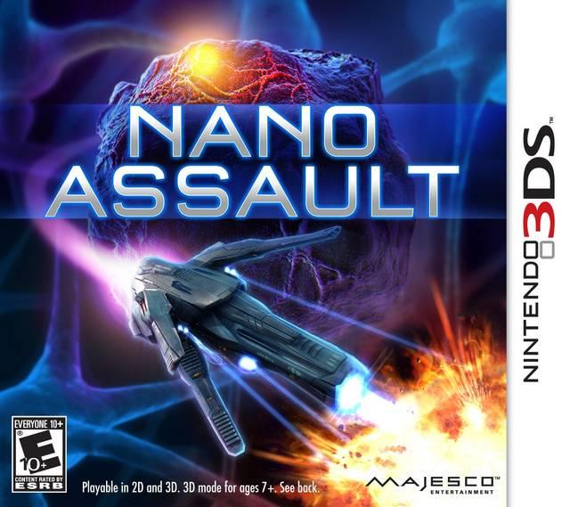 Nano Assault EX Decrypted 3DS USA