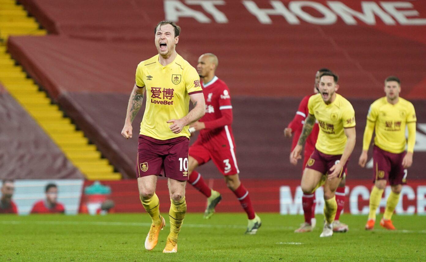 Bermain di Kandang Liverpool Takluk di Tangan Burnley 0-1