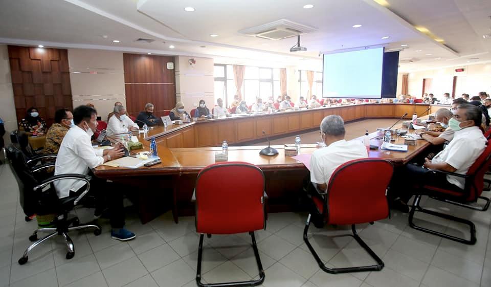 Walikota Batam Membuka Rapat Koordinasi Pengendalian Inflasi
