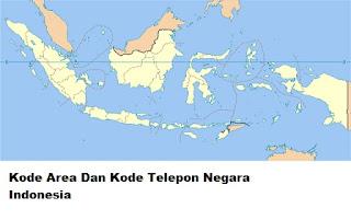 Kode Telepon Negara Indonesia