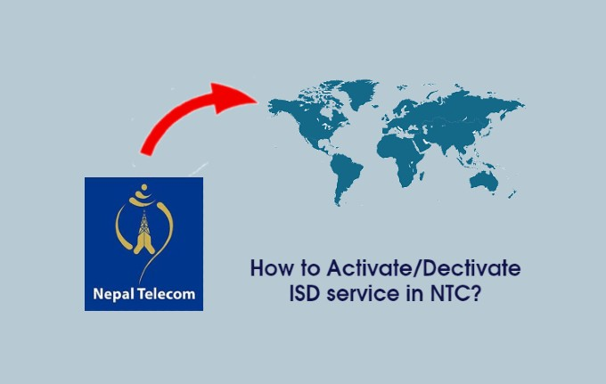 How to Activate/Deactivate NTC ISD Service?