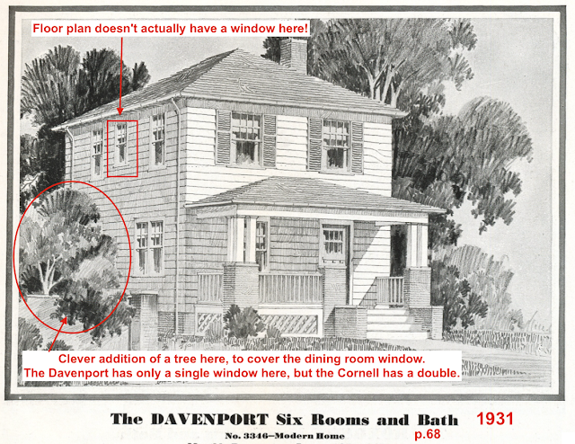 Sears Davenport catalog image 1931 catalog