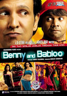 Benny and Babloo (2010) Hindi 720p HDRip ESub 600Mb x265 HEVC