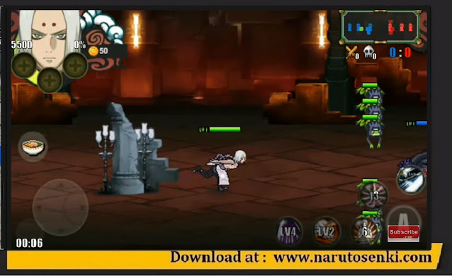 Download Naruto Senki the Last V2 Mod