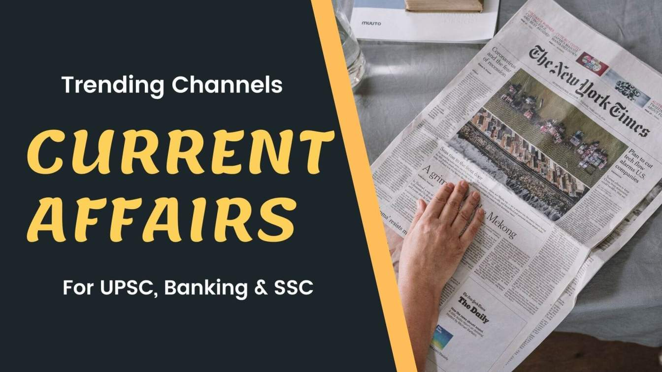Best YouTube Channel For Current Affairs For UPSC & SSC