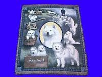 Samoyed Blanket Throw Tapestry