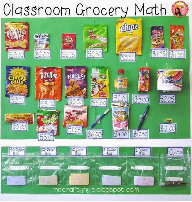 Grocery-Math-money