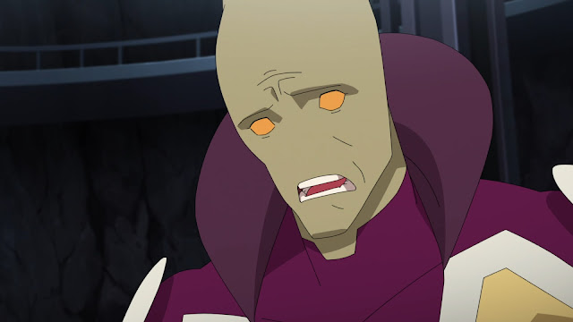 Image of Invincible's Martian Man, his mouth agape.