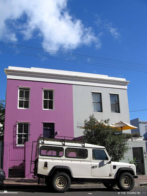 Cape Town, South Africa, Bo-Kaap, Land Rover, Defender