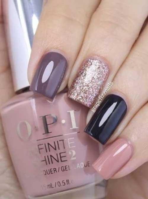 nail designs fall