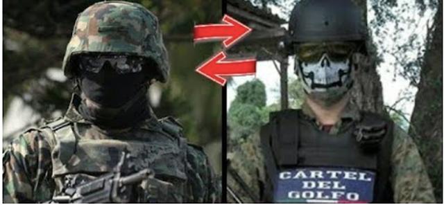 Sicarios del Cártel del Cártel del Golfo se militarizan, usan tácticas Militares, armamento y entrenamientos del Ejercito
