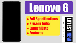 Lenovo 6 Specifications