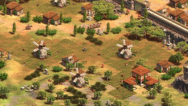 The game Age of Empires 2 is an improved version of the original project, which was presented to the public by the solemn date
