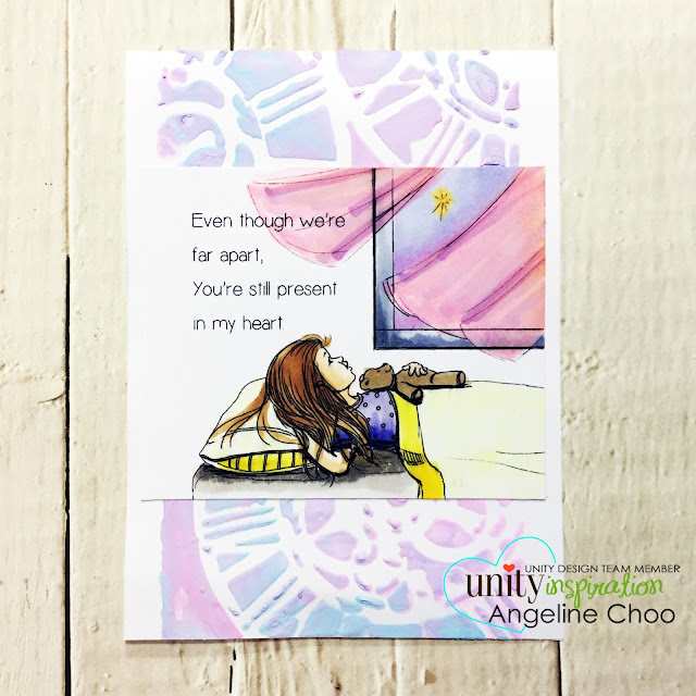 ScrappyScrappy: [NEW VIDEO] Phyllis Harris & Unity Stamp - Angelic Wishes #scrappyscrappy #unitystampco #phyllisharris #card #cardmaking #papercraft #craft #crafting #youtube #quicktipvideo #copicmarkers #timholtz #distressoxide #gesso #mixedmedia #timholtzstencil #clockworks #angelicwishes #tintedembossing