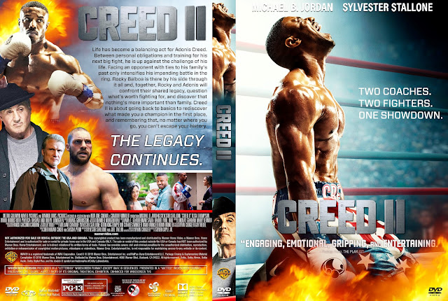 Creed II DVD Cover DVD Cover