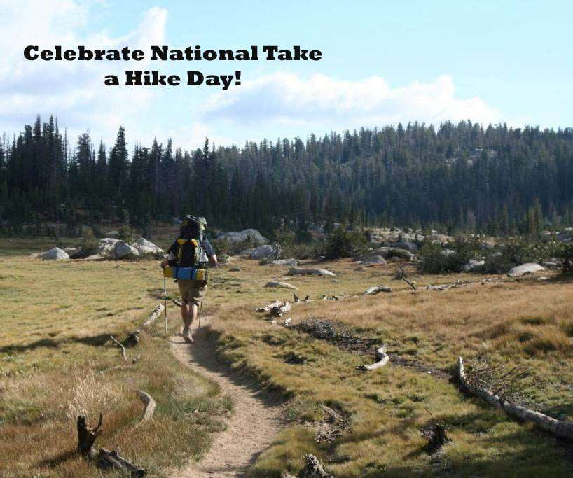 National Take a Hike Day Wishes Pics