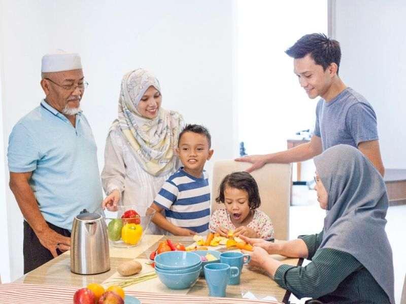 doa keluarga bahagia dalam bahasa melayu