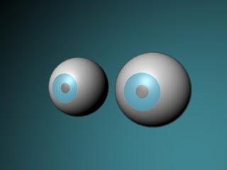 Maya eyeball texture, Maya Procedural Eye, stuff