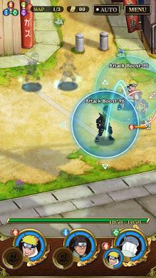لعبة ناروتو للأندرويد Ultimate Ninja Blazing مهكرة آخر إصدار