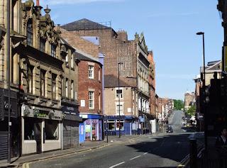 Tyne Theatre on the left