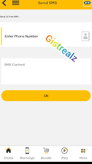 Send Text Messages to Friends For Free Using MyMTN Application [Steps]