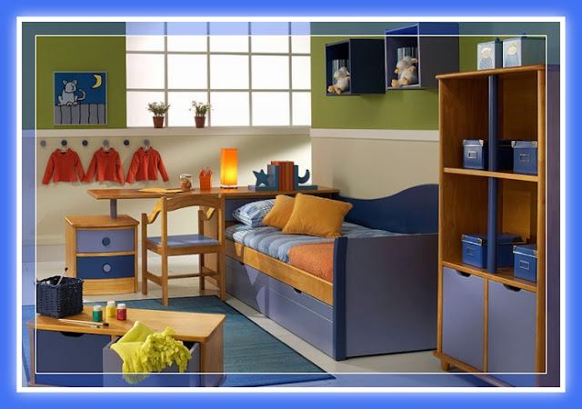 Decoraci n dormitorios juveniles con muebles de melamina for Web de muebles