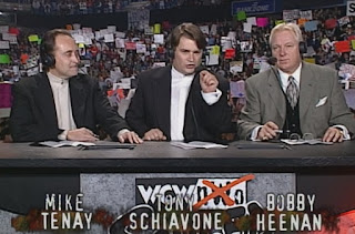 WCW Souled Out 1999 - Mike Tenay, Tony Schiavone, Bobby Heenan
