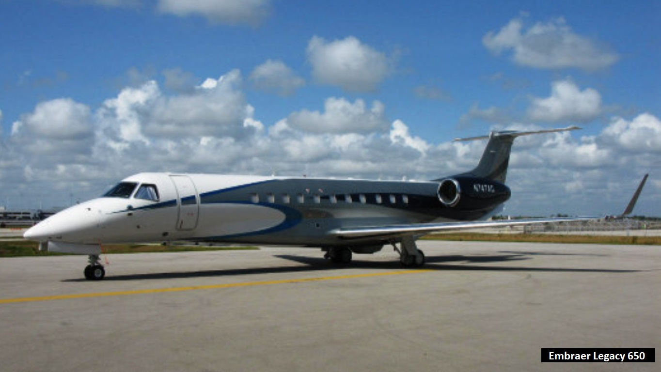 Messi private jet Embraer Legacy 650 cost $26 million