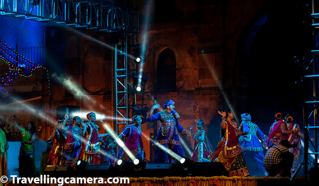 A Harmony of Color, Glitter, Music, and Fast-Paced Dance Moves    Traditional Garba in Navratras, Gujarat