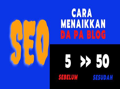 Menaikkan DA PA Blog
