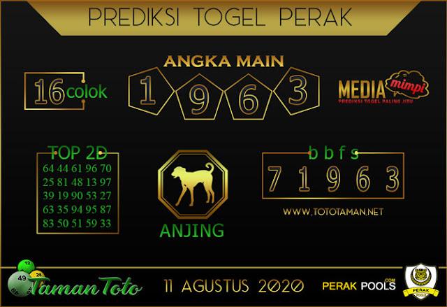Prediksi Togel PERAK TAMAN TOTO 11 AGUSTUS 2020