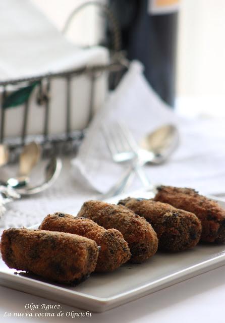 Cocinar Calamares En Su Tinta | Croquetas De Chipirones En Su Tinta Thermomix La Nueva Cocina De