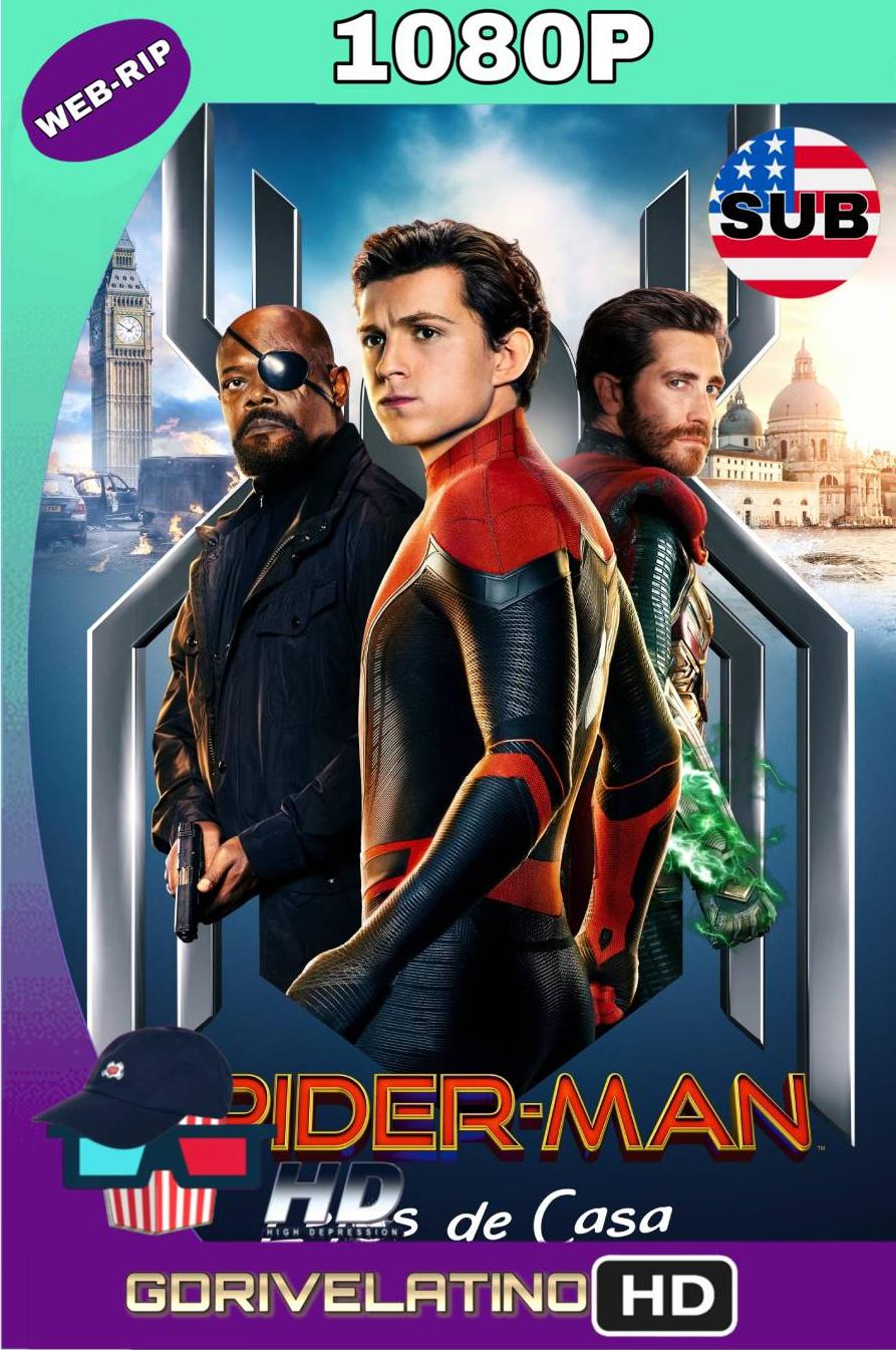 Spider-Man Lejos De Casa (2019) Webrip 1080p SUBTITULADO MKV