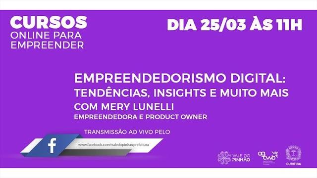 Palestras on-line orientam sobre empreendedorismo digital e agilidade emocional