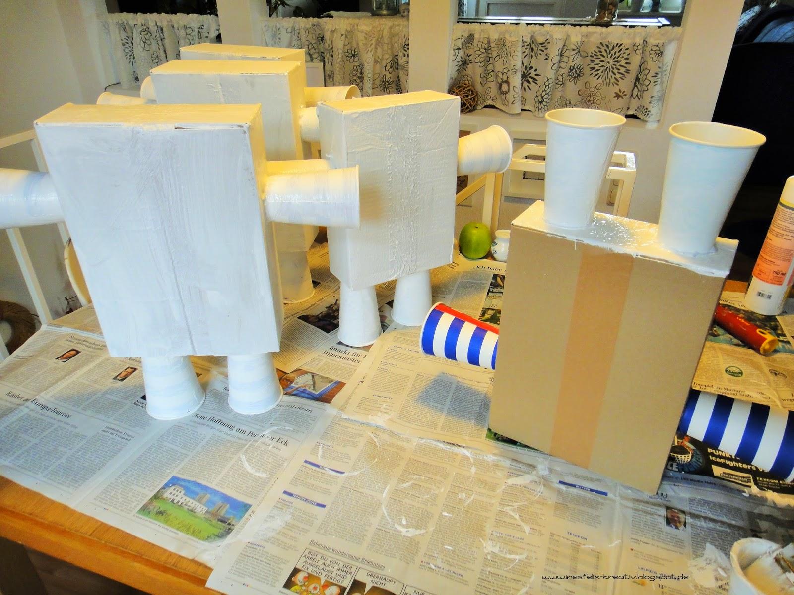 ines felix kreatives zum nachmachen mein kleiner roboter. Black Bedroom Furniture Sets. Home Design Ideas